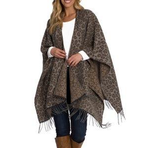 NWT Woolrich Cozy Blanket Wrap Scarf One Size